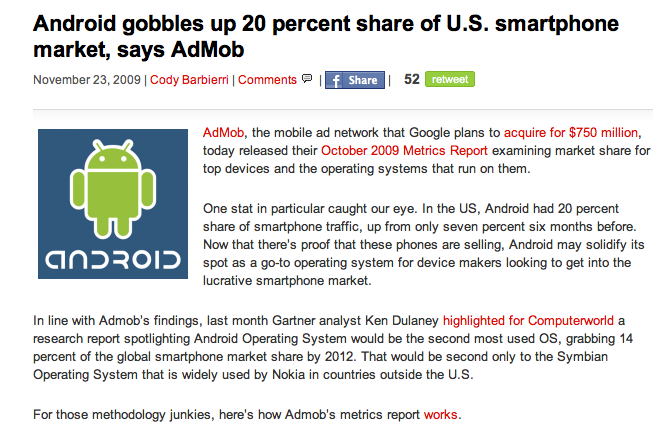 Alas, VentureBeat Gets the AdMob Data Wrong Too!